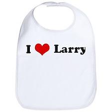 I Love Larry Bib