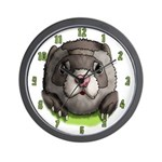 Ferret Face Wall Clock