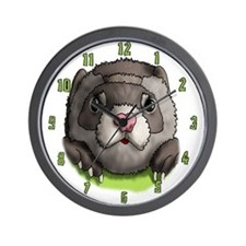 Ferret Face Wall Clock