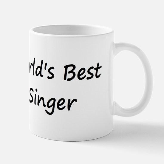 World's Best Singer Mug