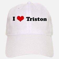 I Love Triston Baseball Baseball Cap
