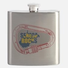 Seneca Rocks Climbing Carabiner Flask