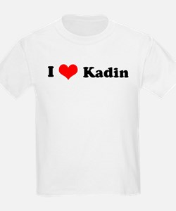 I Love Kadin Kids T-Shirt