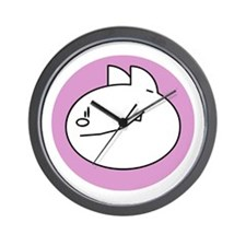 Cute Eat Wall Clock
