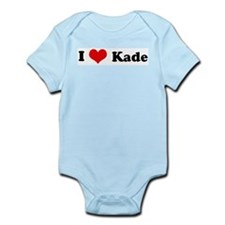 I Love Kade Infant Creeper