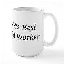 World's Best Social Worker Mug