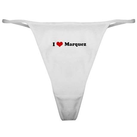 I Love Marquez Classic Thong