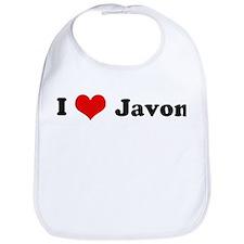 I Love Javon Bib
