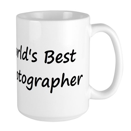 World's Best Photographer Large Mug