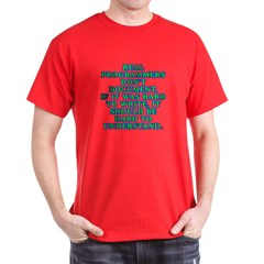 Real programmers T-Shirt