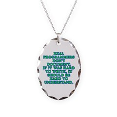 Real programmers Necklace