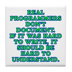 Real programmers - Tile Coaster