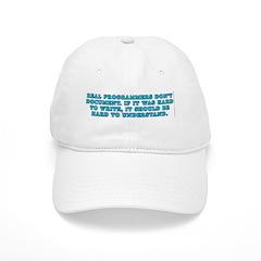 Real programmers - Baseball Cap