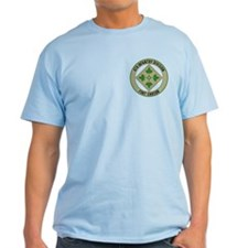 4th Infantry post T-Shirt