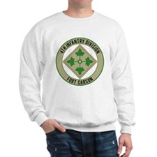4th Infantry post Sweatshirt