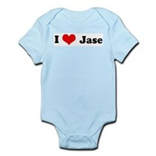 I Love Jase Infant Creeper