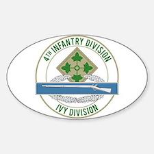 4th Infantry CIB Decal