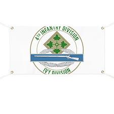 4th Infantry CIB Banner