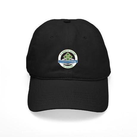 4th Infantry CIB Black Cap
