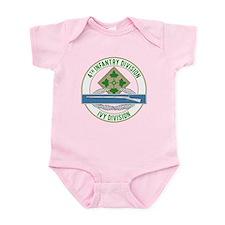 4th Infantry CIB Infant Bodysuit