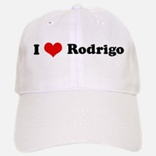 I Love Rodrigo Baseball Baseball Cap