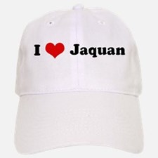 I Love Jaquan Baseball Baseball Cap