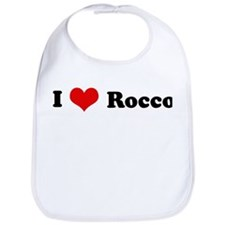 I Love Rocco Bib