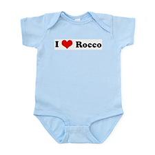 I Love Rocco Infant Creeper