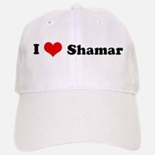 I Love Shamar Baseball Baseball Cap