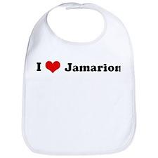 I Love Jamarion Bib