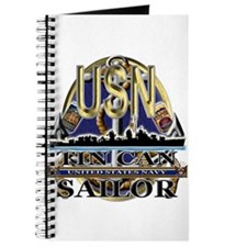 US Navy Tin Can Sailor USN Journal