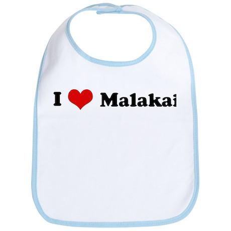 I Love Malakai Bib