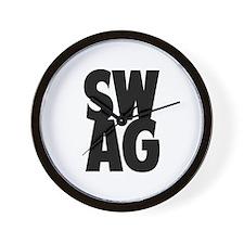 SWAG Wall Clock