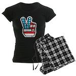 Peace For America Women's Dark Pajamas