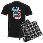 Peace For America Men's Dark Pajamas