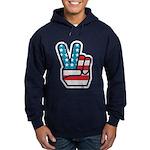 Peace For America Hoodie (dark)