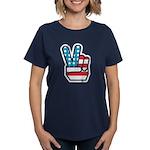 Peace For America Women's Dark T-Shirt