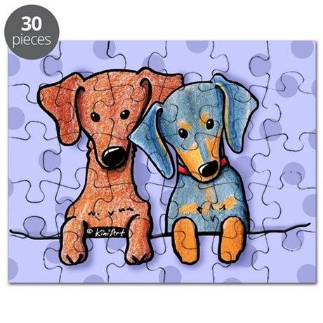 Pocket Doxie Duo Puzzle