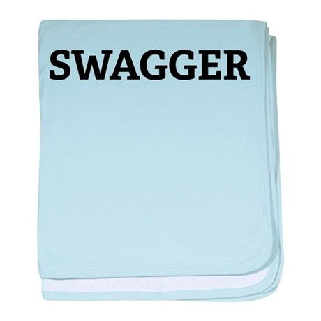 SWAGGER baby blanket