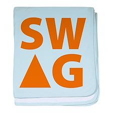 SWAG baby blanket