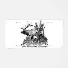 I am Grandpa the hunting legend 3 Aluminum License