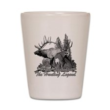 I am Grandpa the hunting legend 3 Shot Glass