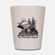 I am Grandpa the hunting legend 3 Shot Glass