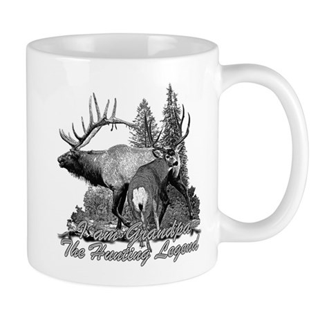 I am Grandpa the hunting legend 3 Mug