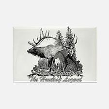 I am Grandpa the hunting legend 3 Rectangle Magnet