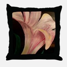Young Blossom Throw Pillow