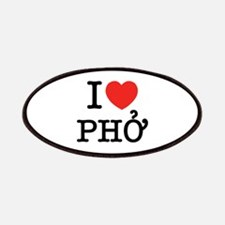 I Love (Heart) Pho Patches