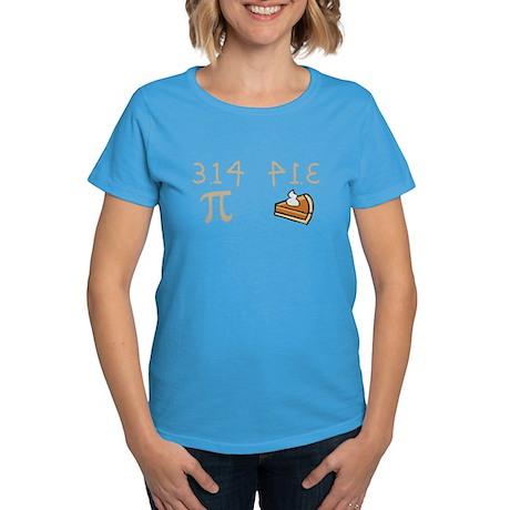 Pi vs Pie Women's Dark T-Shirt