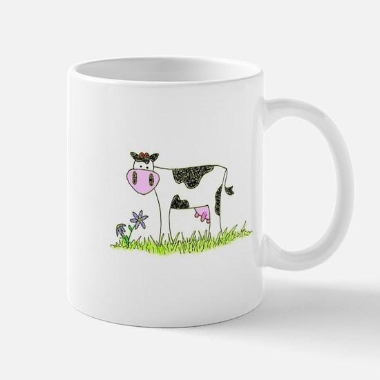 Cute Purple cow Mug