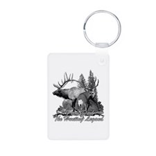 Dad the hunting legend 3 Aluminum Photo Keychain